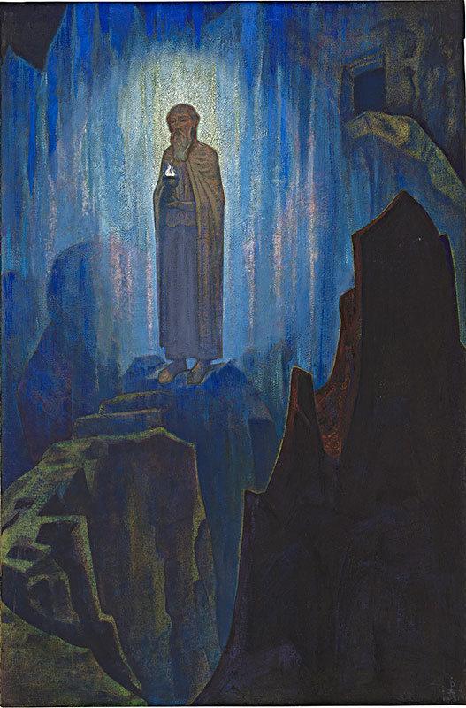 Н.К.Рерих. Lumen Coeli. # 24 [Свет Небесный]. 1931